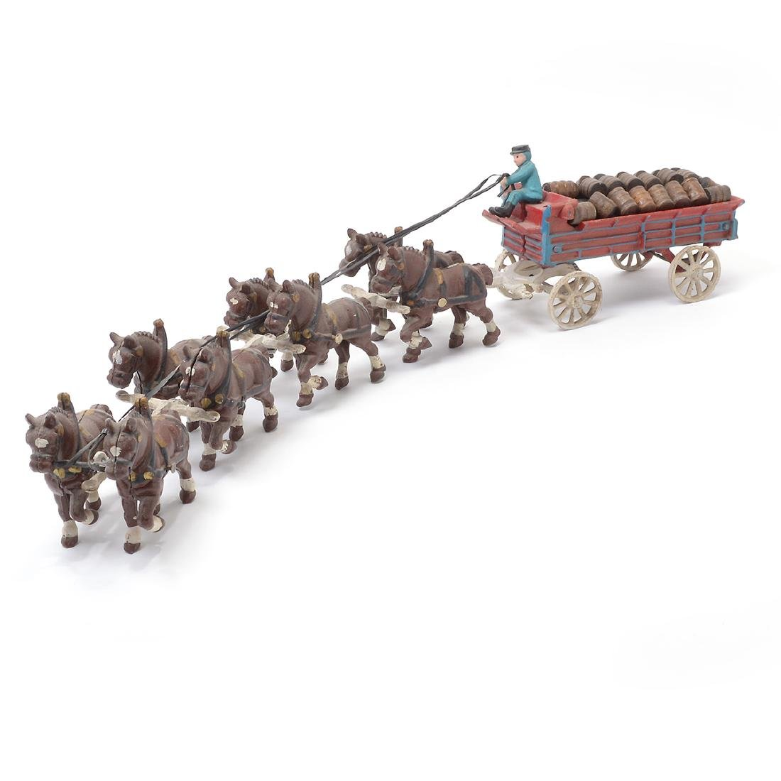 Budweiser Horse Drawn Cart