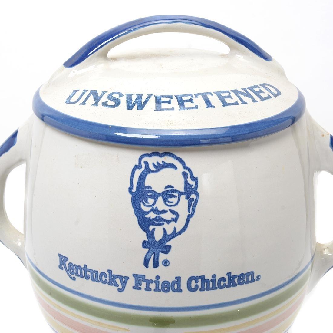 """""""Kentucky Fried Chicken"""" Stoneware Iced Tea Dispenser - 2"""