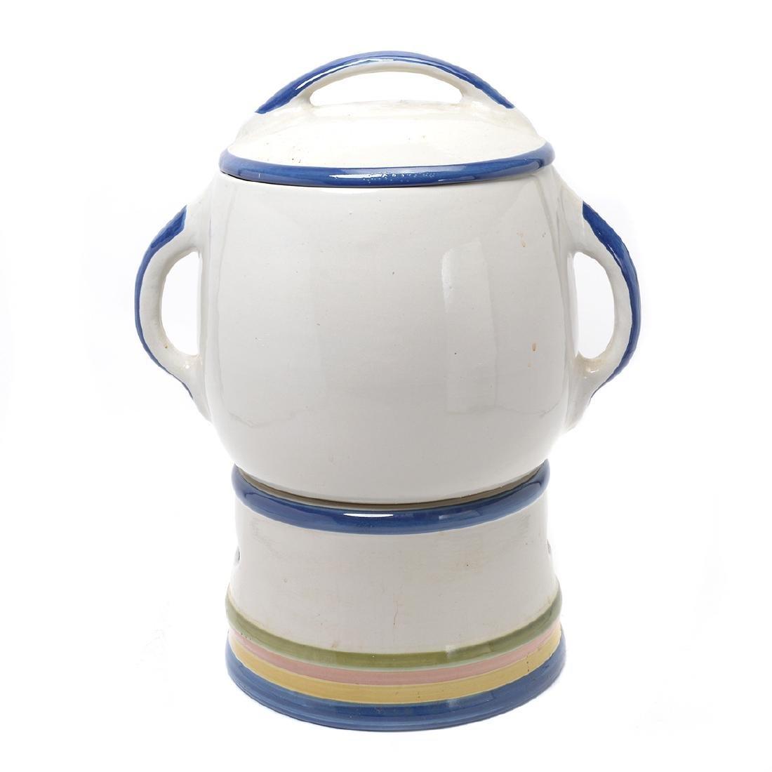 """""""Kentucky Fried Chicken"""" Stoneware Iced Tea Dispenser - 4"""
