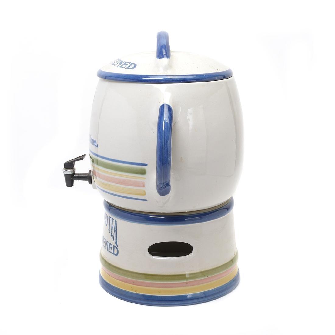 """""""Kentucky Fried Chicken"""" Stoneware Iced Tea Dispenser - 5"""