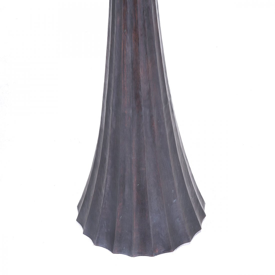 Robert Kuo for McGuire Copper Floor Lamp - 2