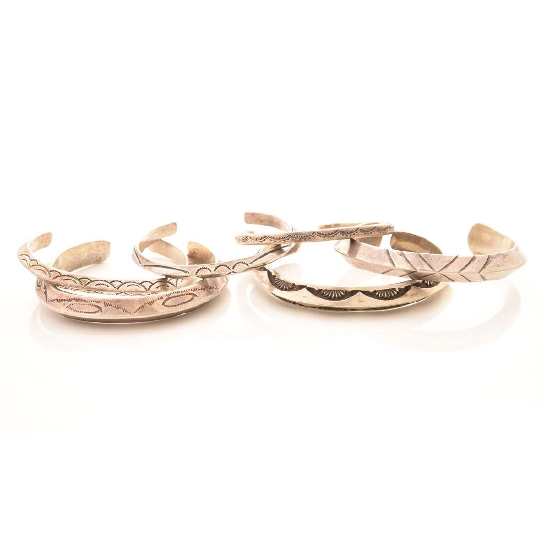Collection of Sterling Silver Native American Cuff