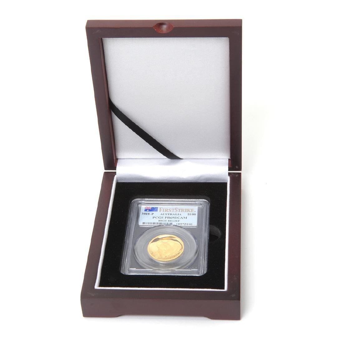 2010P Australia $100.00 Gold KOALA PCGS PR69 DCAM in