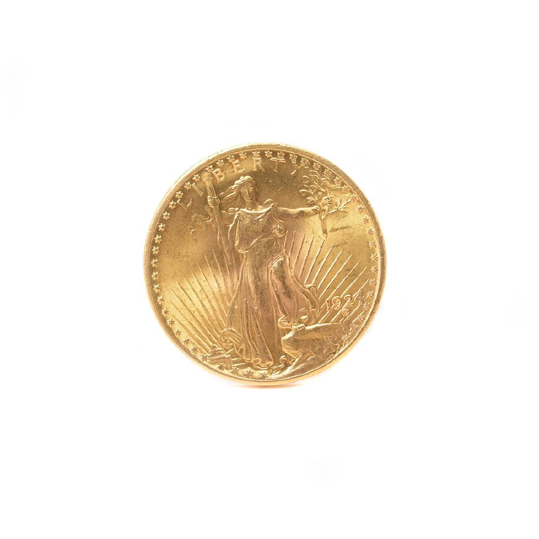US 1924 Saint-Gaudens Gold $20.00 Coin