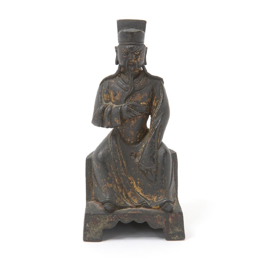 Small Bronze Figure, Ming Dynasty