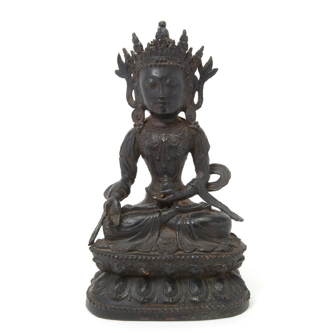 Bronze Figure of a Bodhisattva