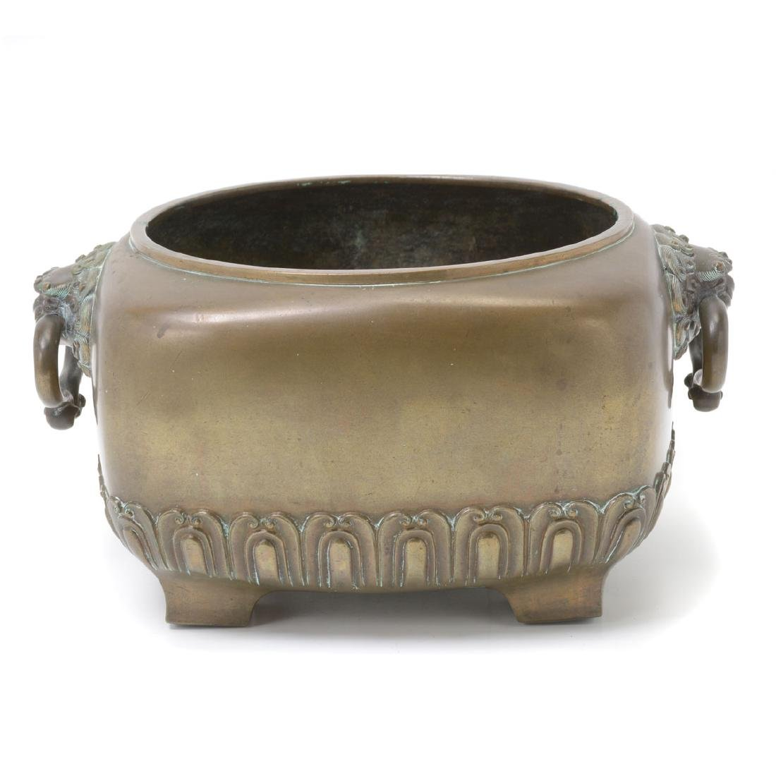 Japanese Bronze Footed Censer, Early 20th Century