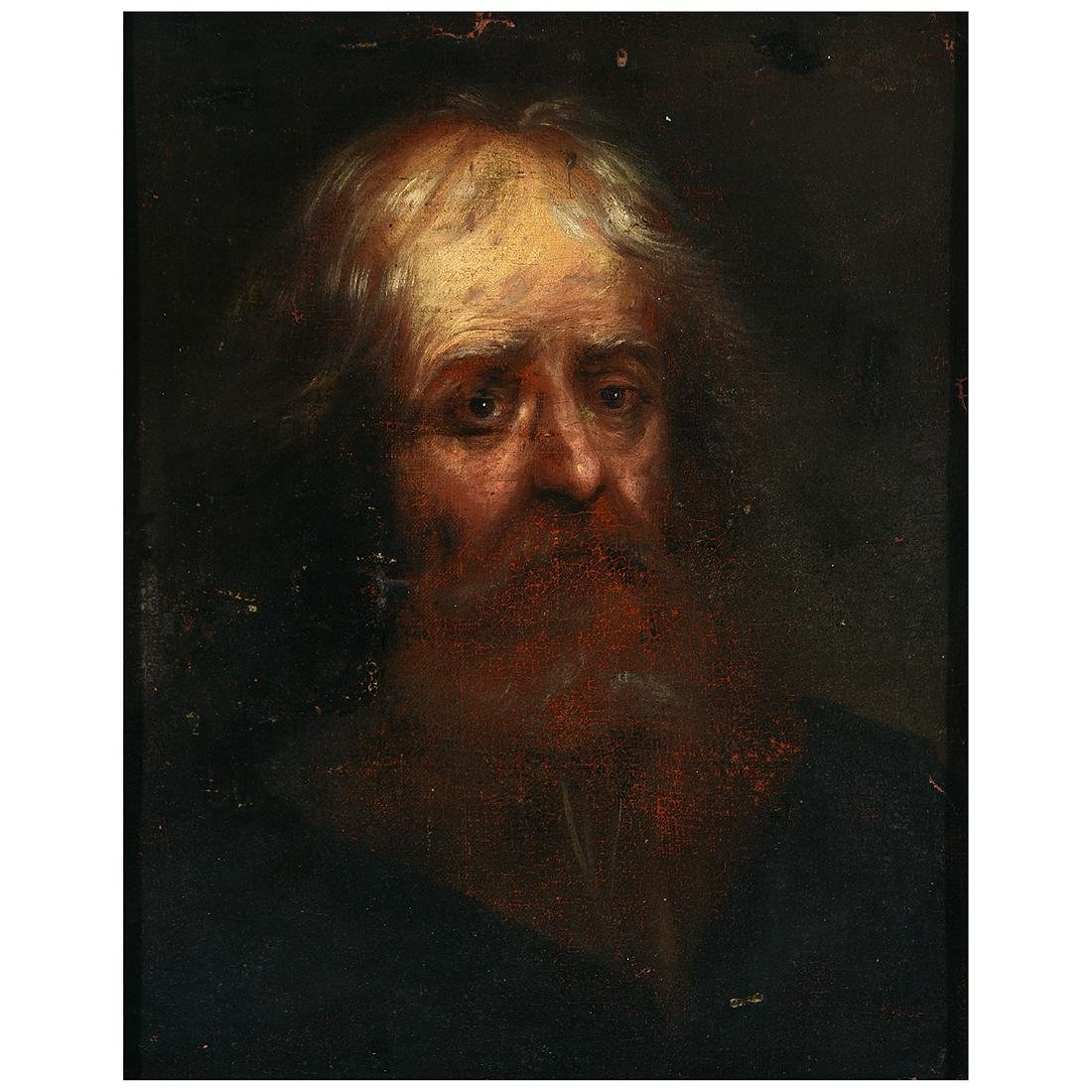 Old master style portrait of a man