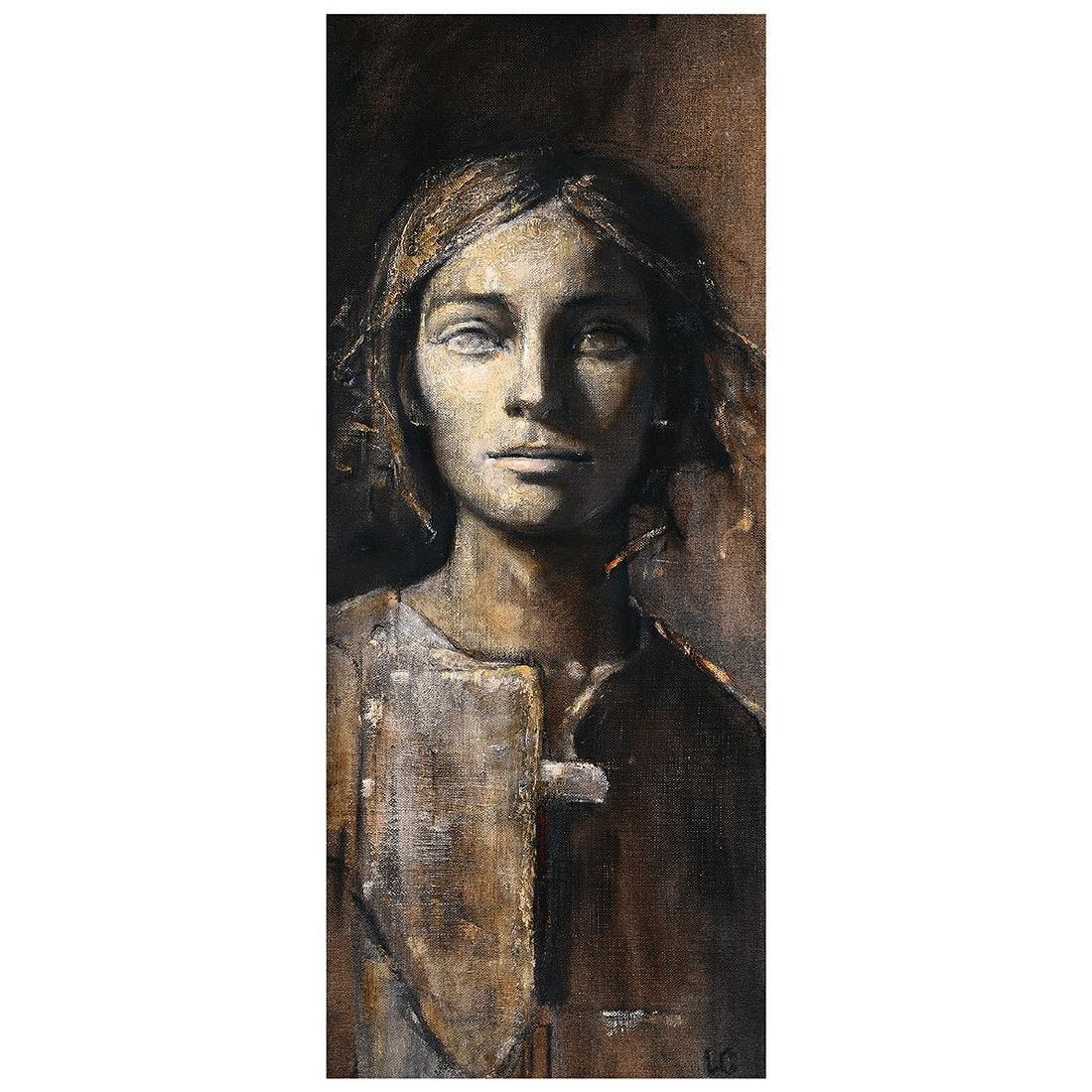 "Laila Carlsen ""Enigma"" oil on canvas"