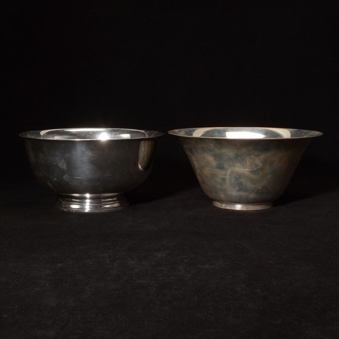 Two Tiffany & Co. Sterling Silver Bowls
