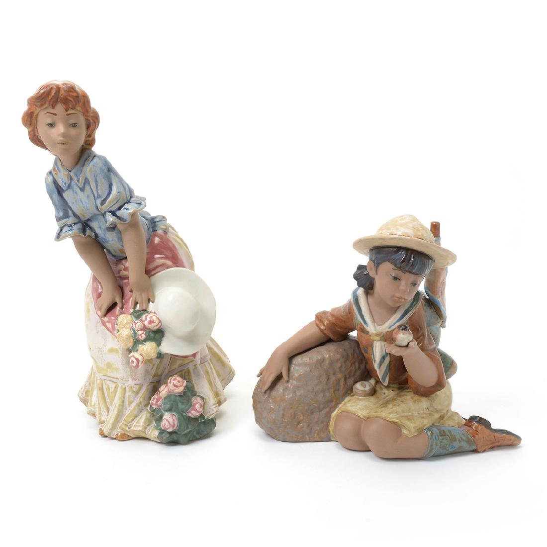 Two Lladro Figures of Ladies