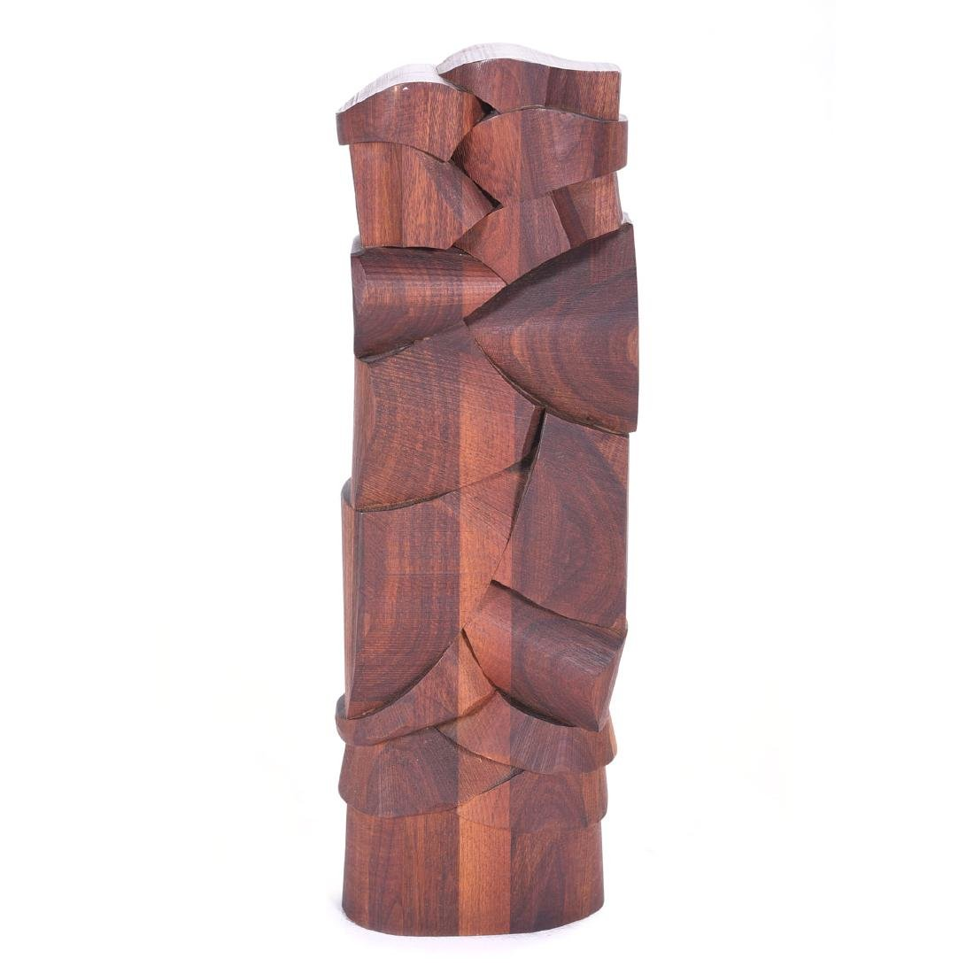 Carved Abstracted Redwood, Jim Fuller