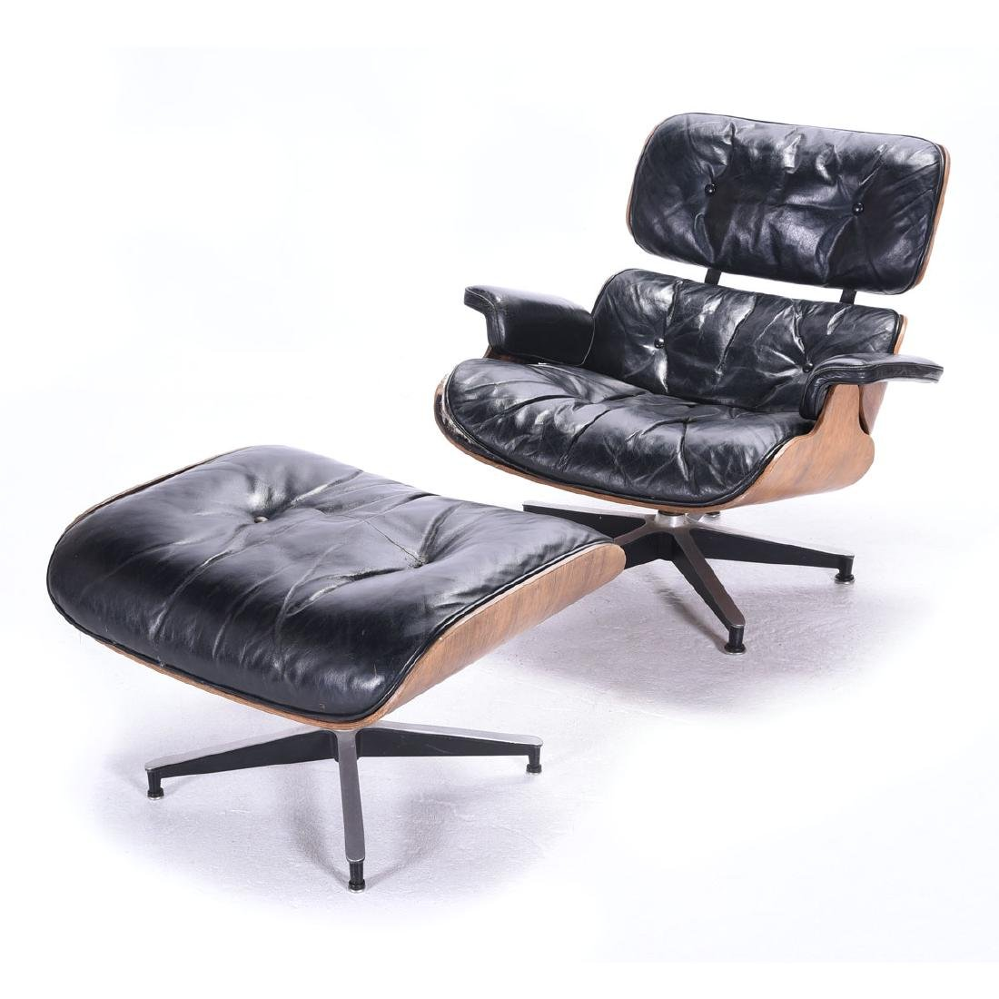 Herman Miller Lounge Chair and Ottoman
