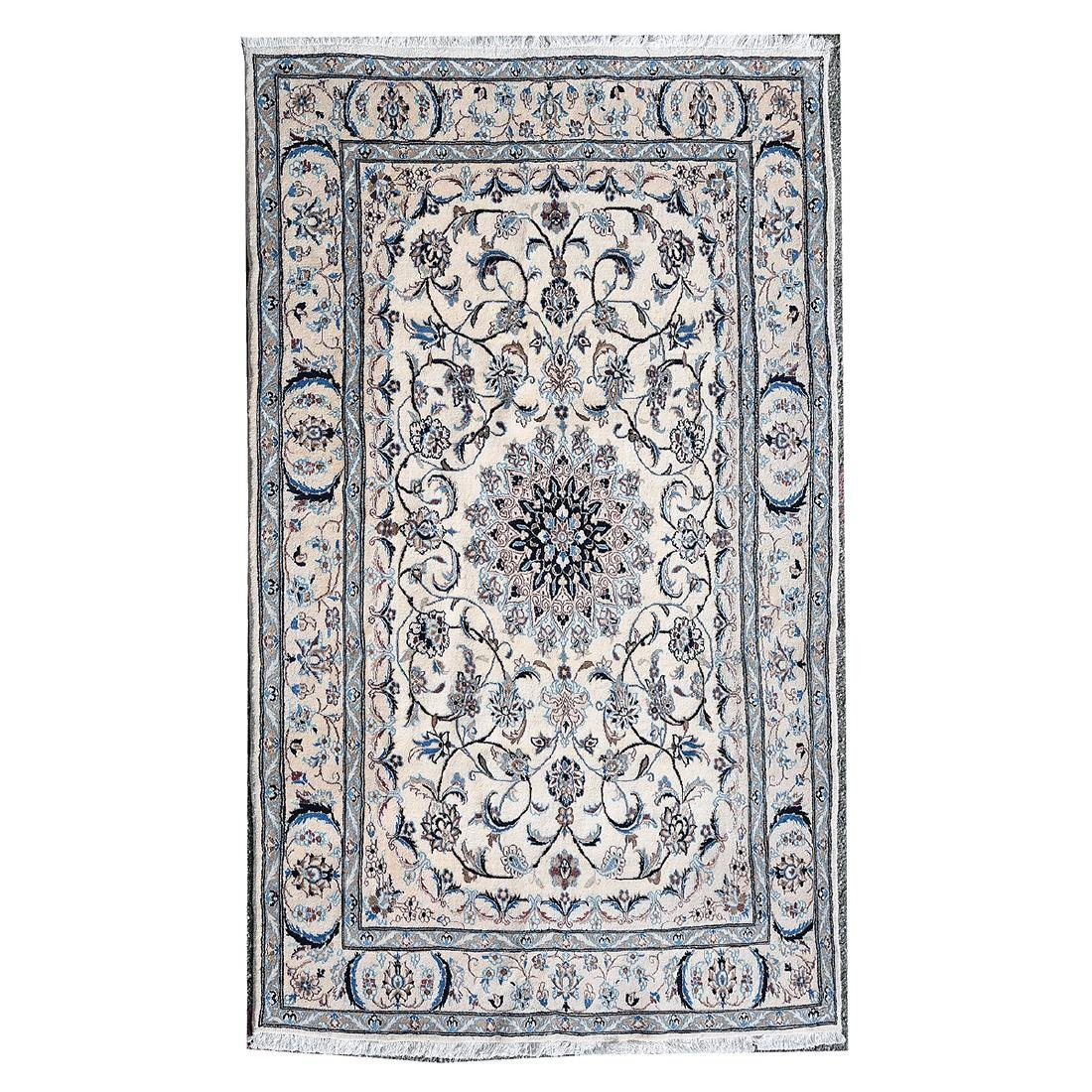 Nain Carpet (Ivory ground with central medallion).