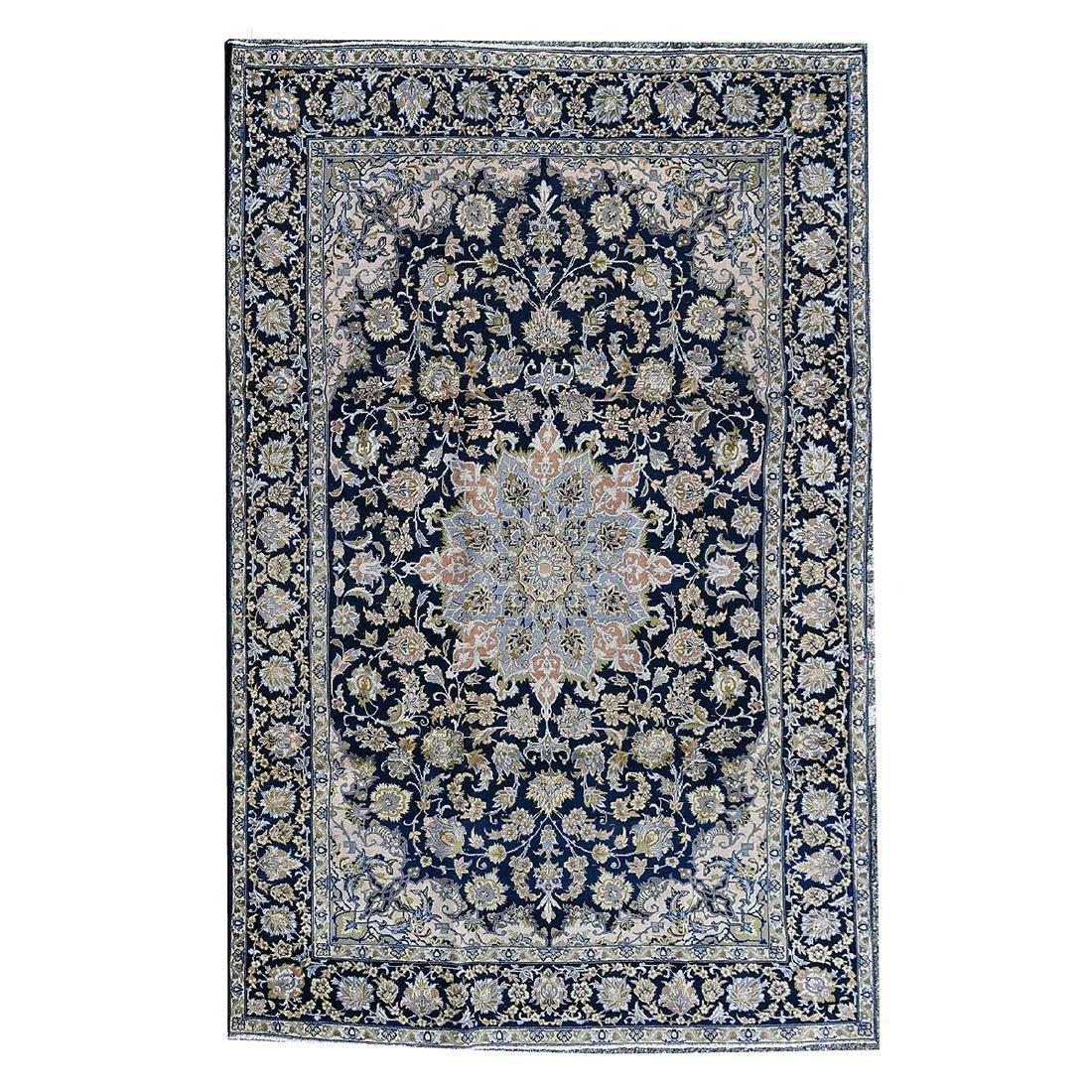 Tabriz Carpet (Cobalt Blue Ground)