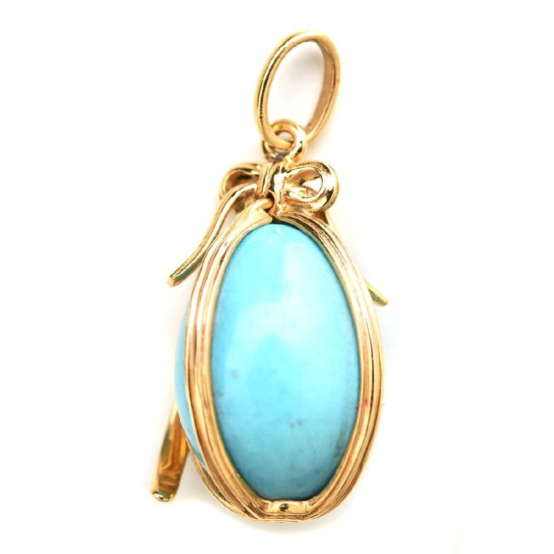 433c741c1bb5b Tiffany & Company Schlumberger Turquoise, 18k Yellow