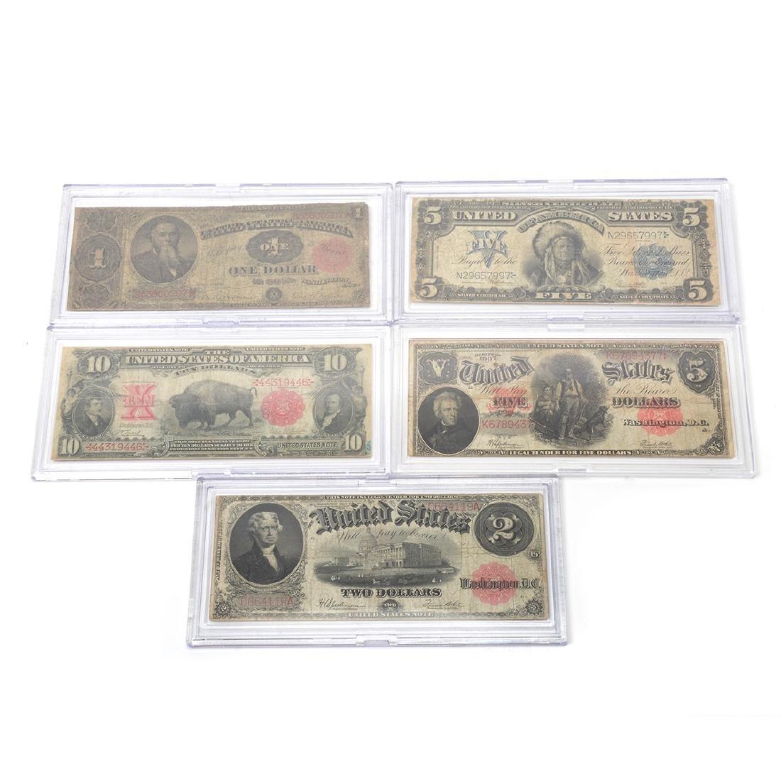 Lot of US Large Bills