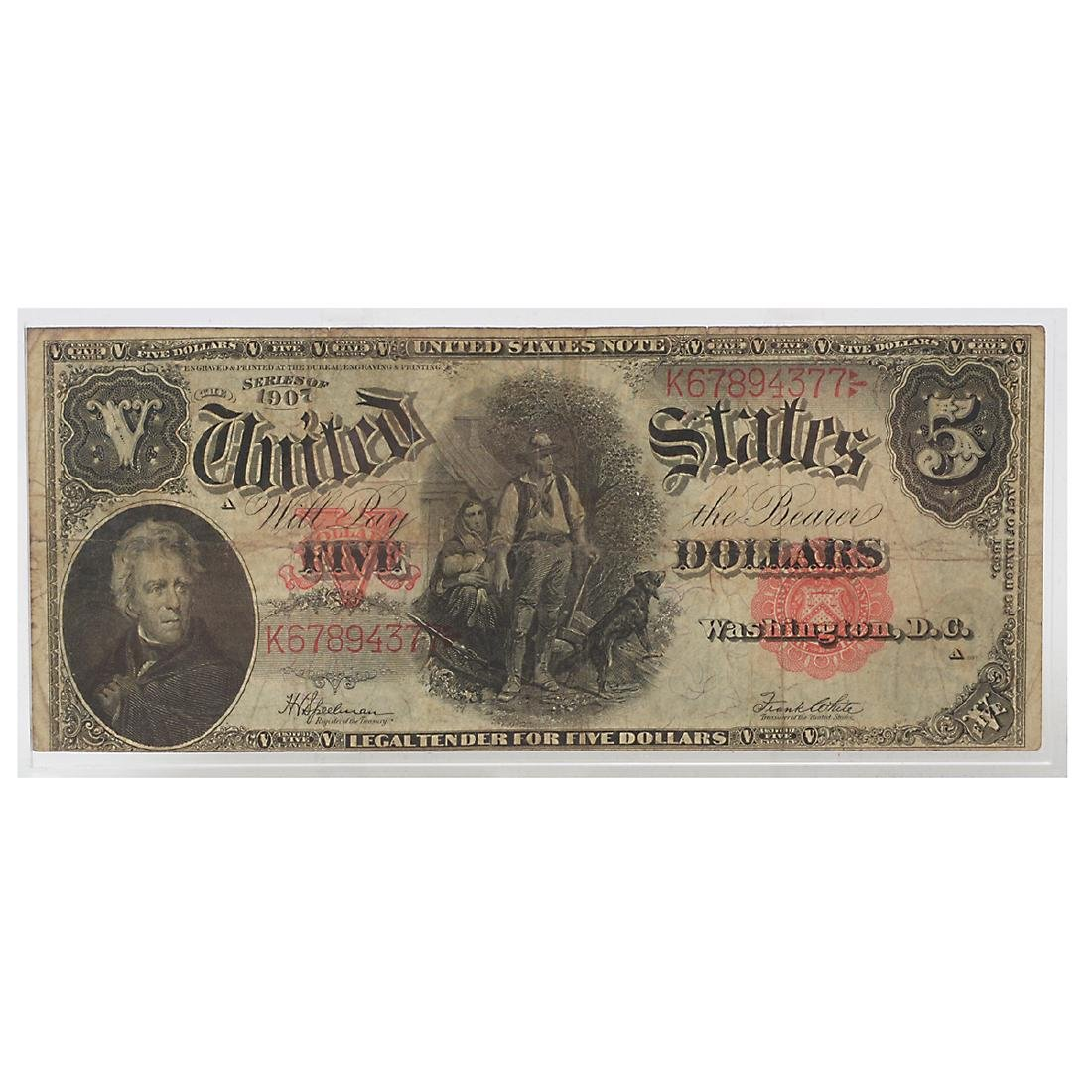 Lot of US Large Bills - 4