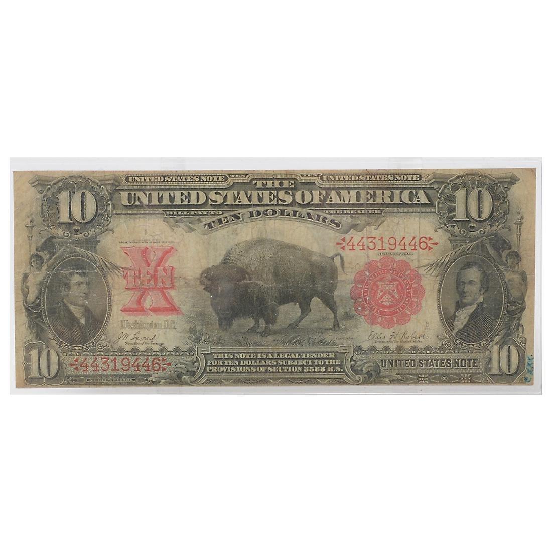 Lot of US Large Bills - 5