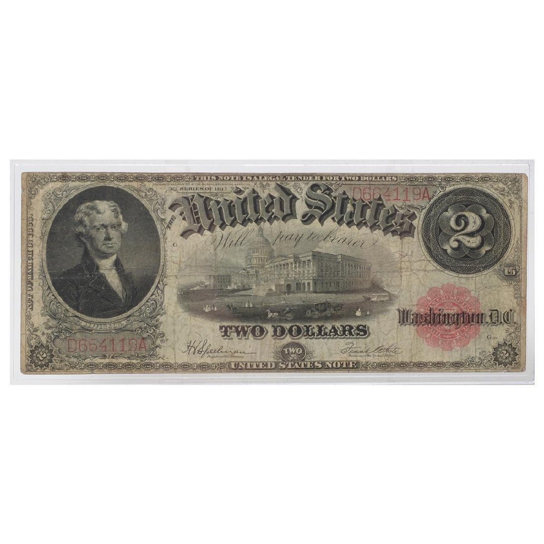 Lot of US Large Bills - 6