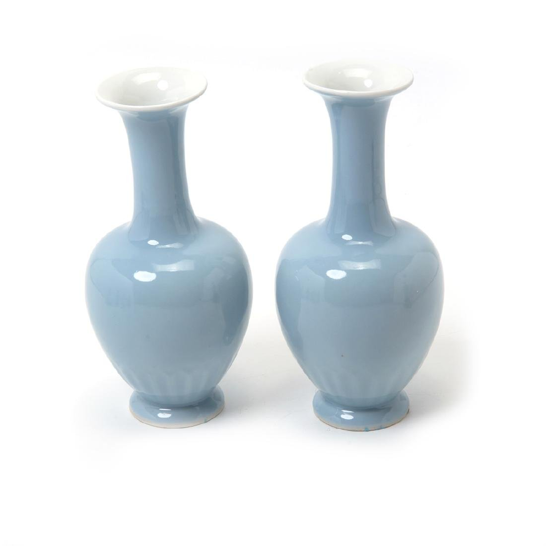 Seven Clair-de-Lune Glazed Vases, 19th Century - 2