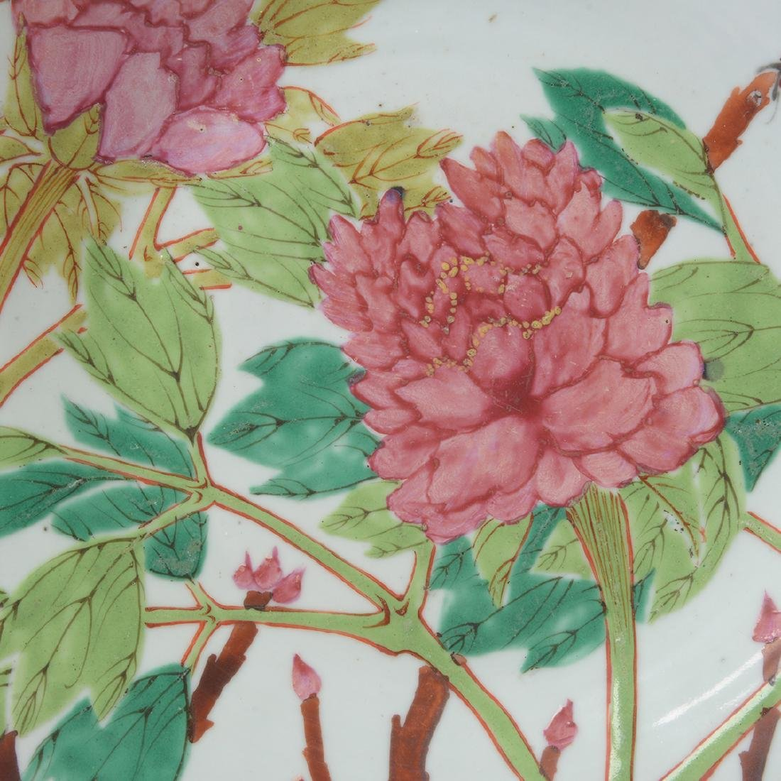 Pair of Famille Rose Plates, Early 20th C - 4