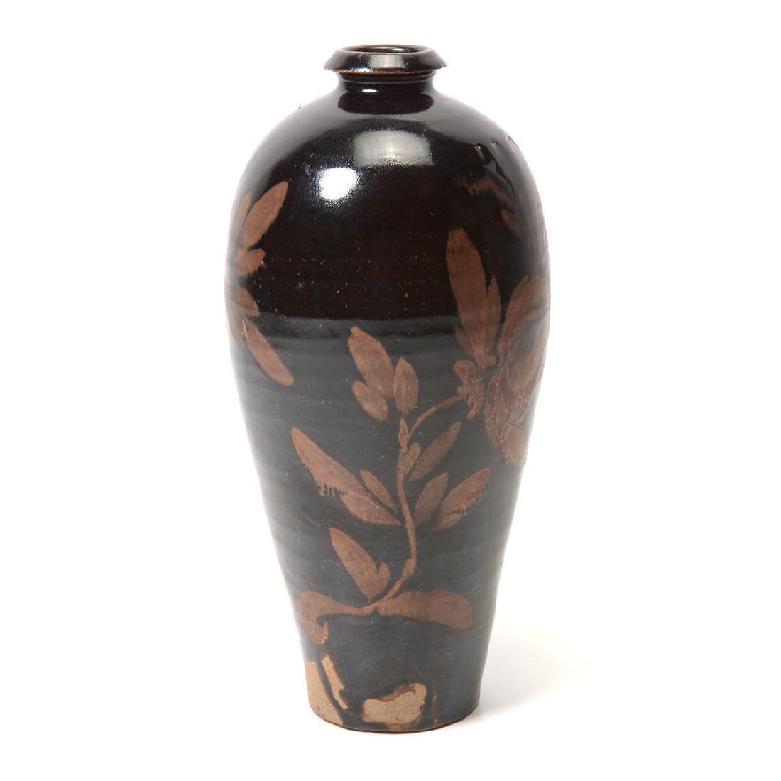 Black Glazed Vase, Song Dynasty - 2