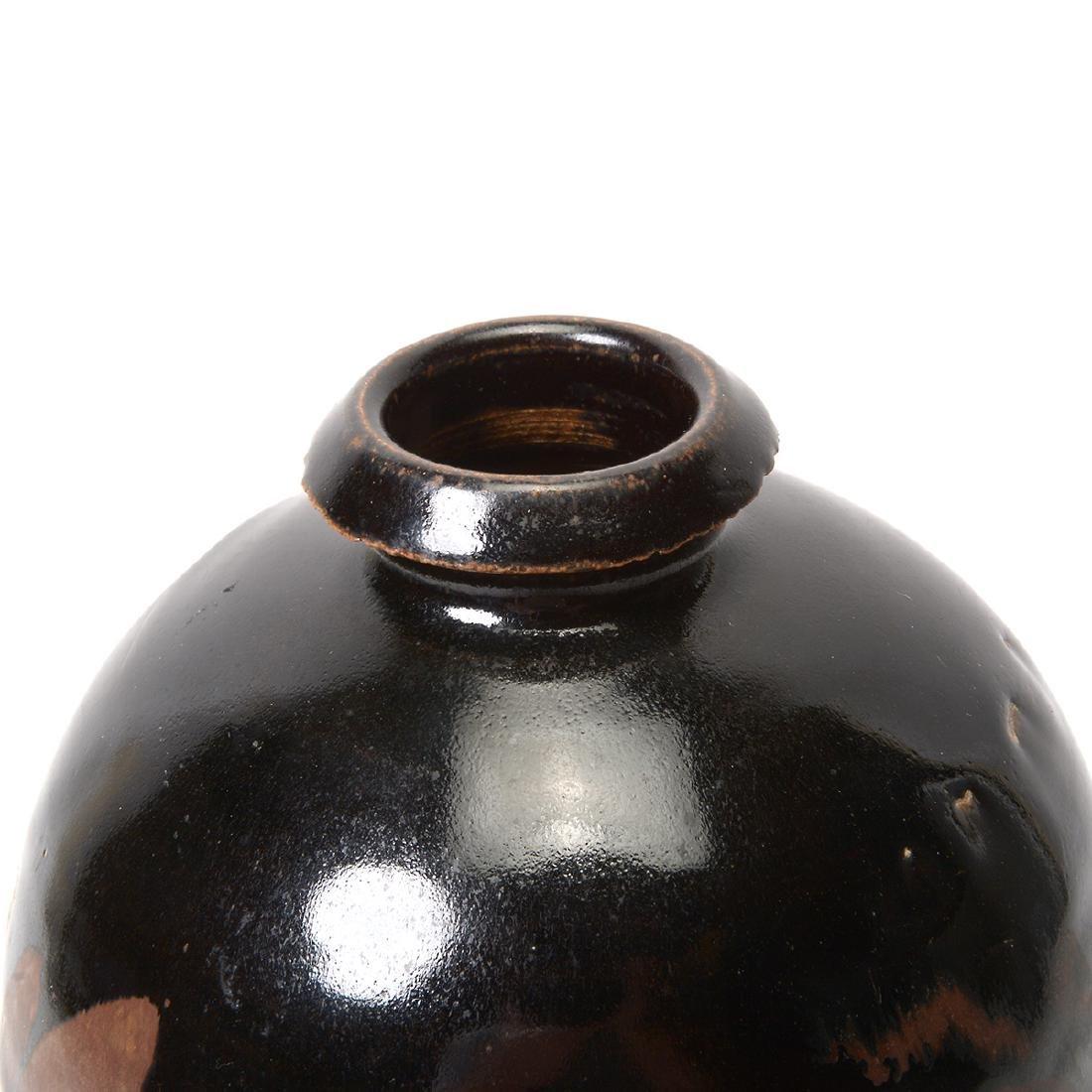 Black Glazed Vase, Song Dynasty - 3