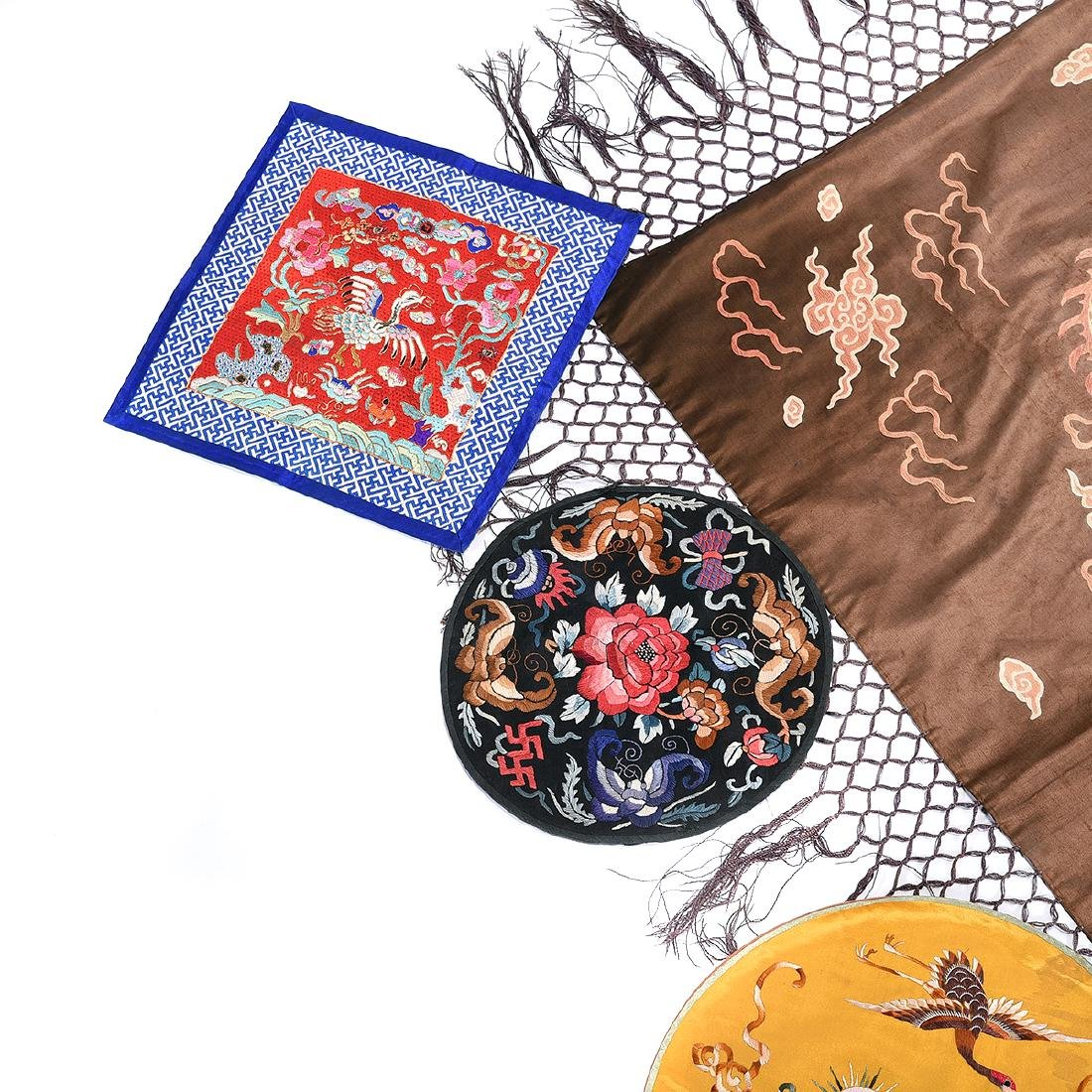 Group of Silk Embroideries - 4