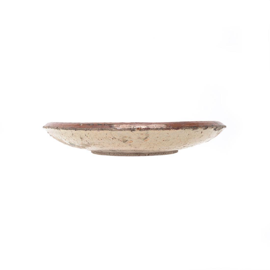 Japanese Mingei 'Horse-Eye' Dish, Edo Period - 3