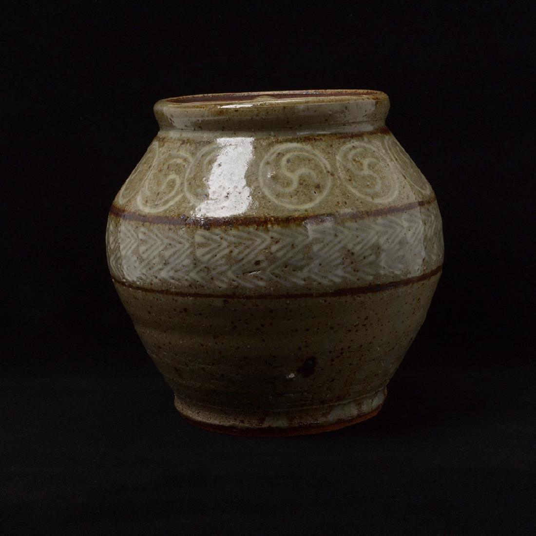Two Japanese Glazed Ceramics - 4