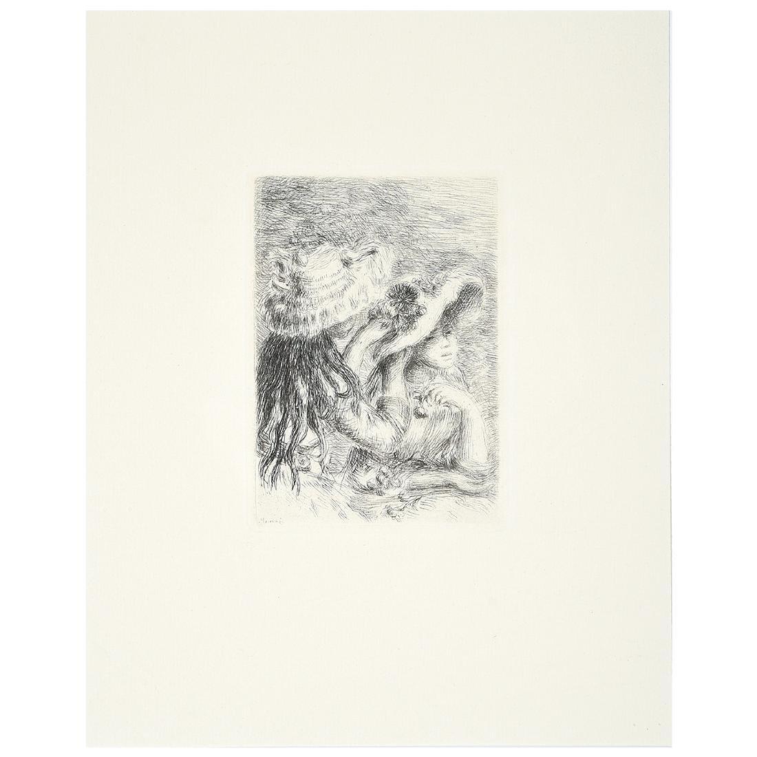 """After Pierre- Auguste Renoir """"Chapeau Epingle"""""""