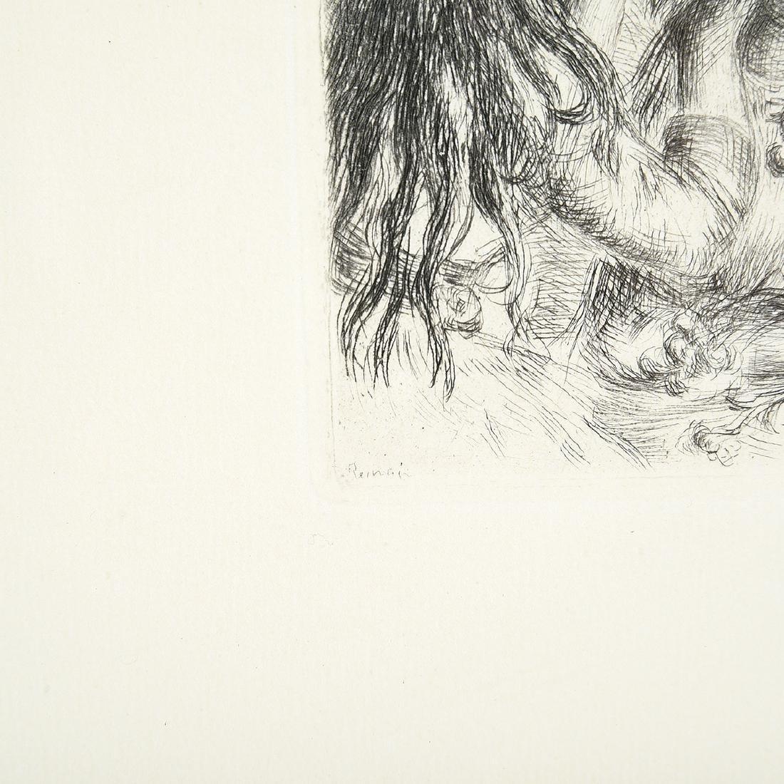 """After Pierre- Auguste Renoir """"Chapeau Epingle"""" - 2"""