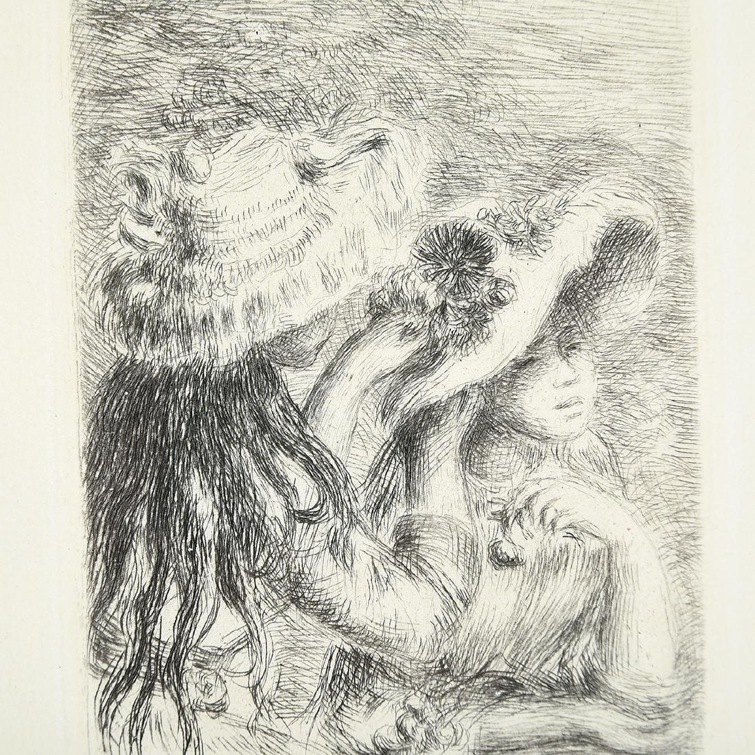 """After Pierre- Auguste Renoir """"Chapeau Epingle"""" - 3"""