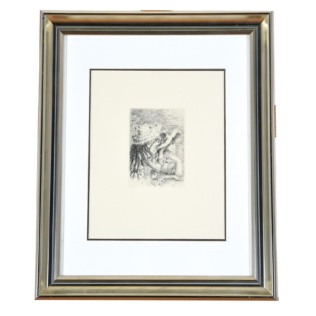 """After Pierre- Auguste Renoir """"Chapeau Epingle"""" - 4"""
