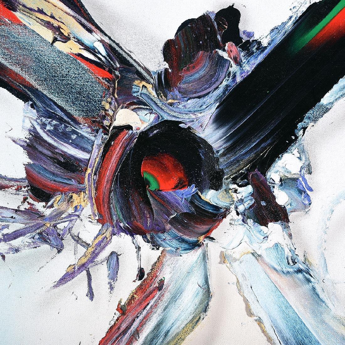 "Sven Hoglund ""Morning Star"" oil on canvas - 3"