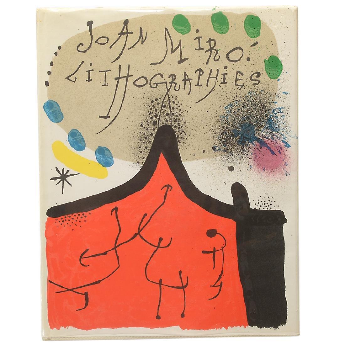 Set of 4 Books including three volumes of Joan Miro - 3