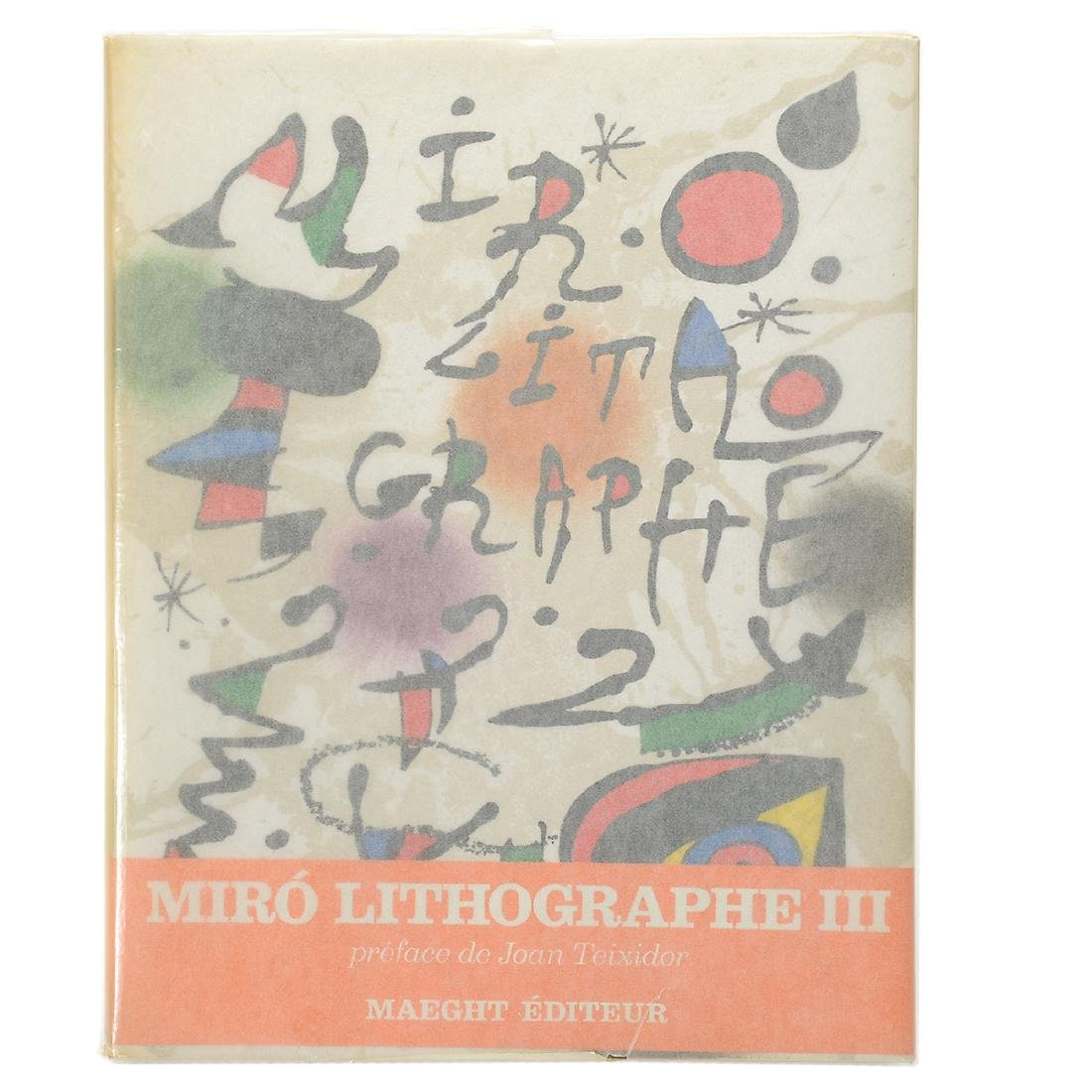 Set of 4 Books including three volumes of Joan Miro - 5
