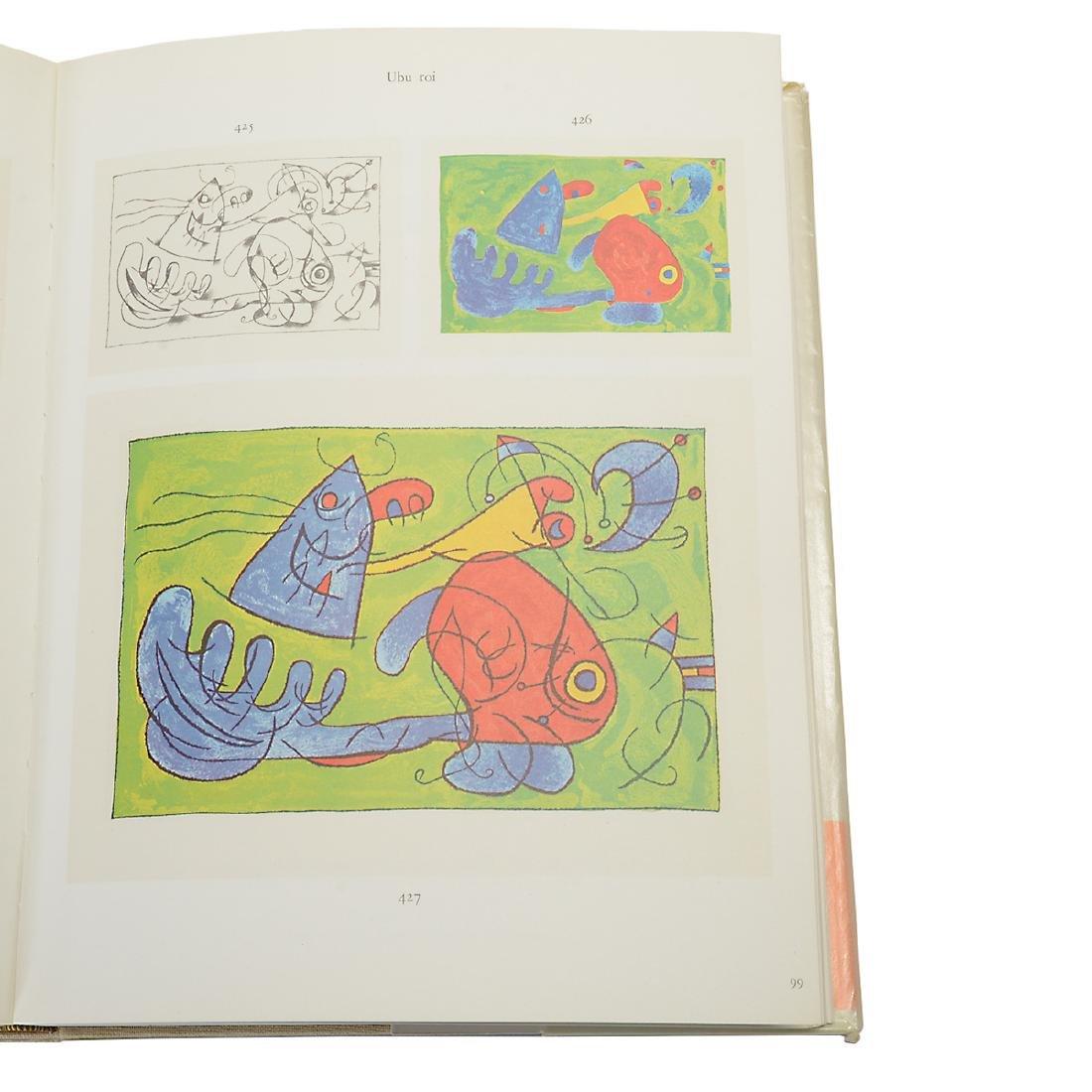 Set of 4 Books including three volumes of Joan Miro - 7