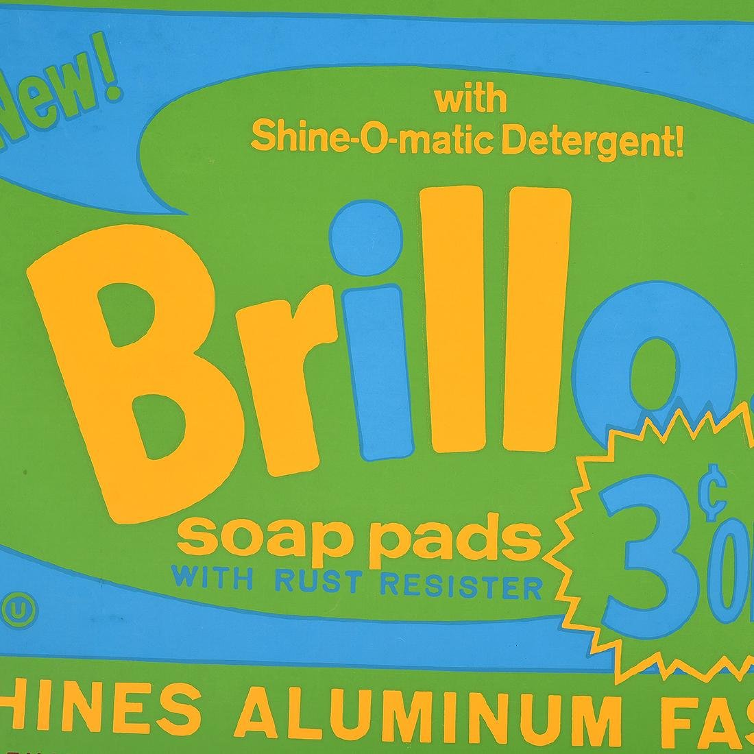 "Andy Warhol ""Brillo"" silkscreen exhibition poster - 4"