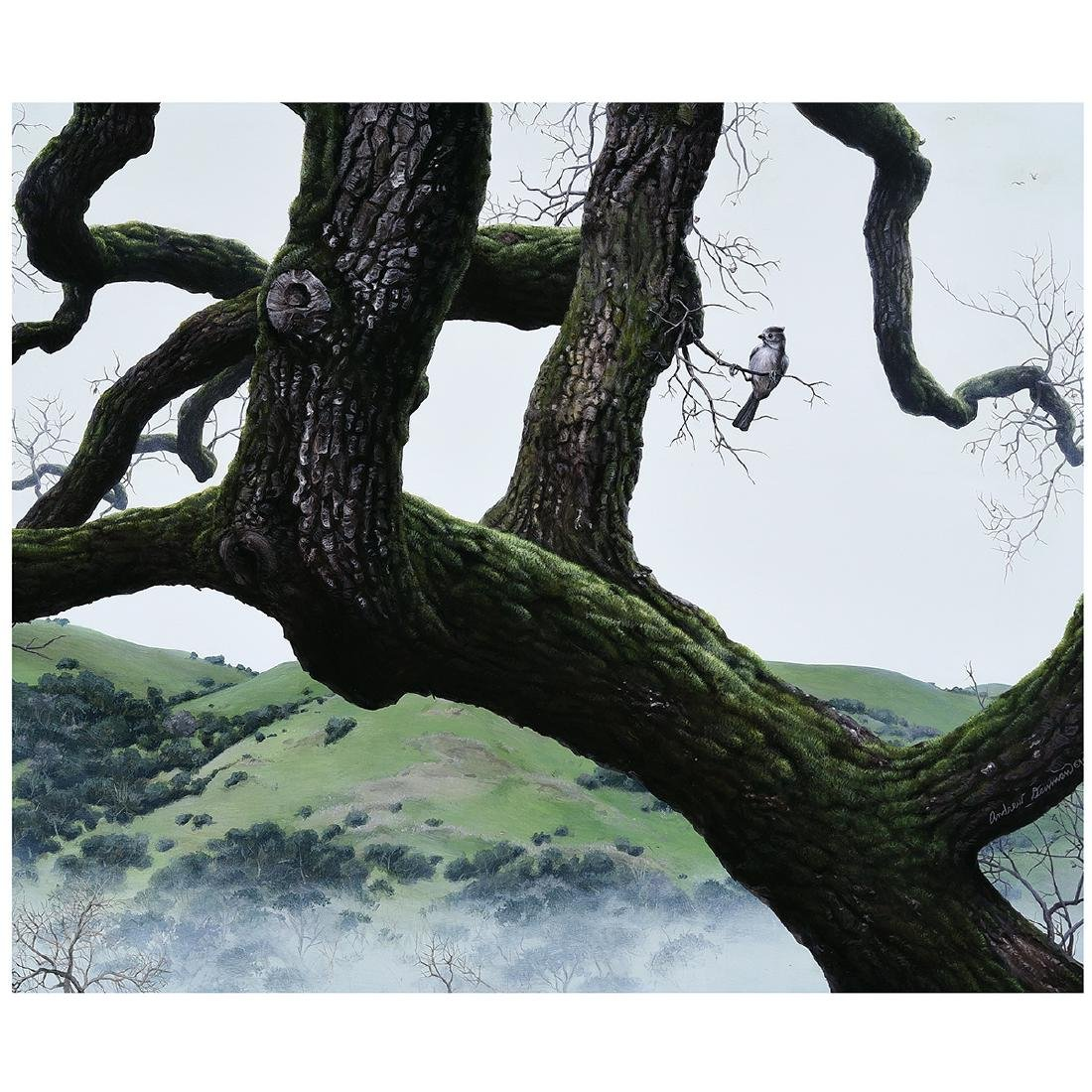 "Andrew Denman ""Quercus of Hawthorne"" acrylic on"