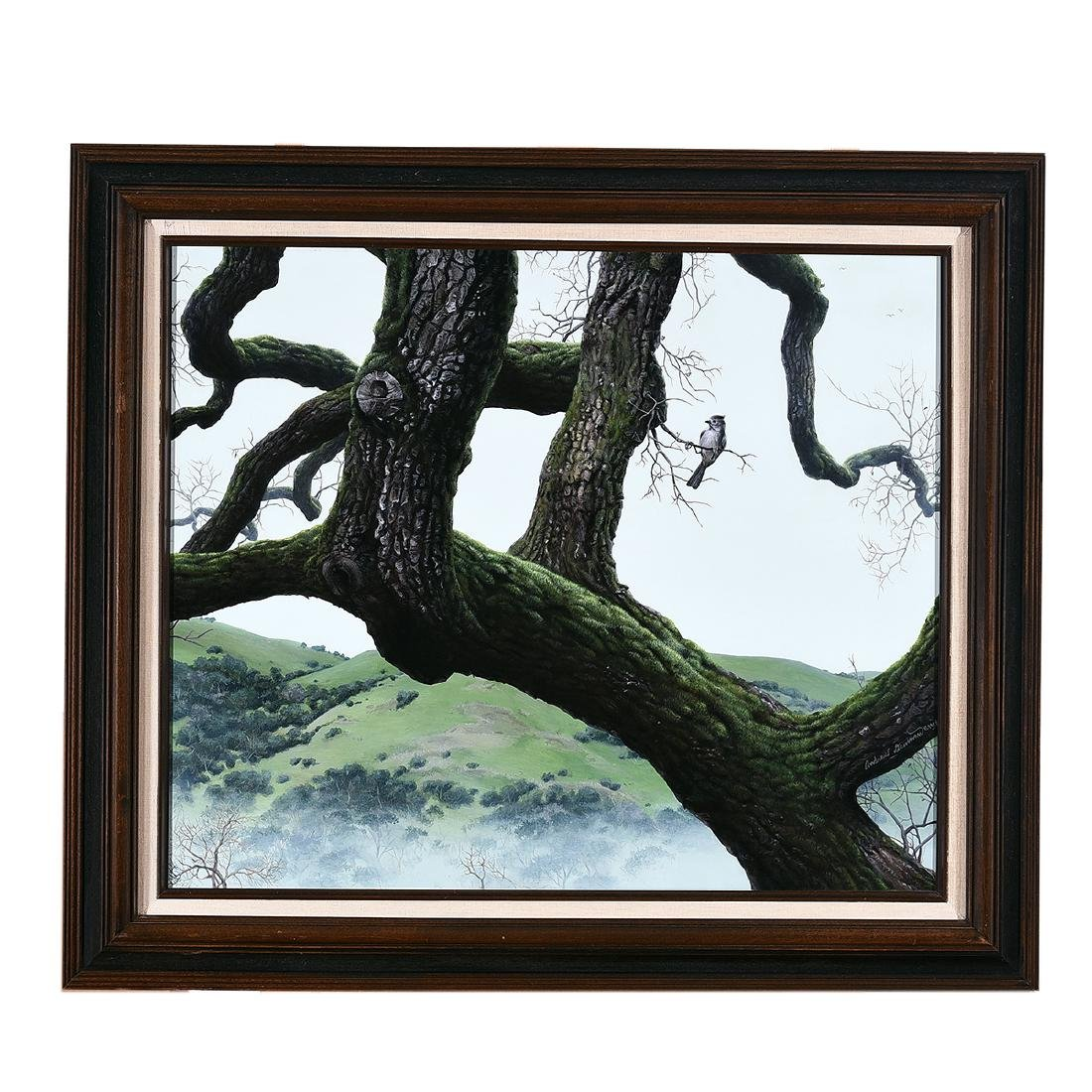 "Andrew Denman ""Quercus of Hawthorne"" acrylic on - 3"