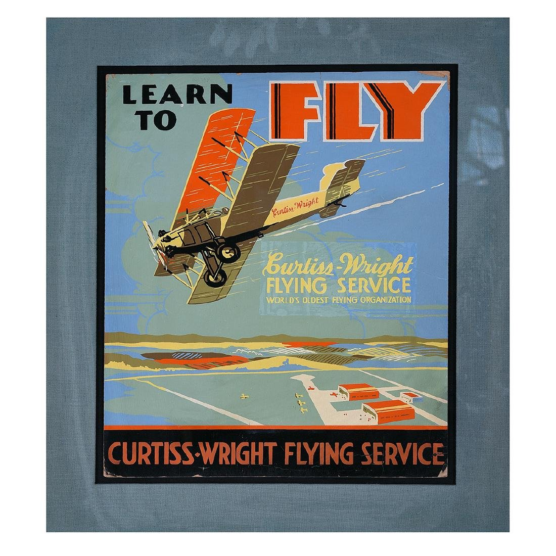 "American School ""Learn to Fly: Curtiss Wright Flying"