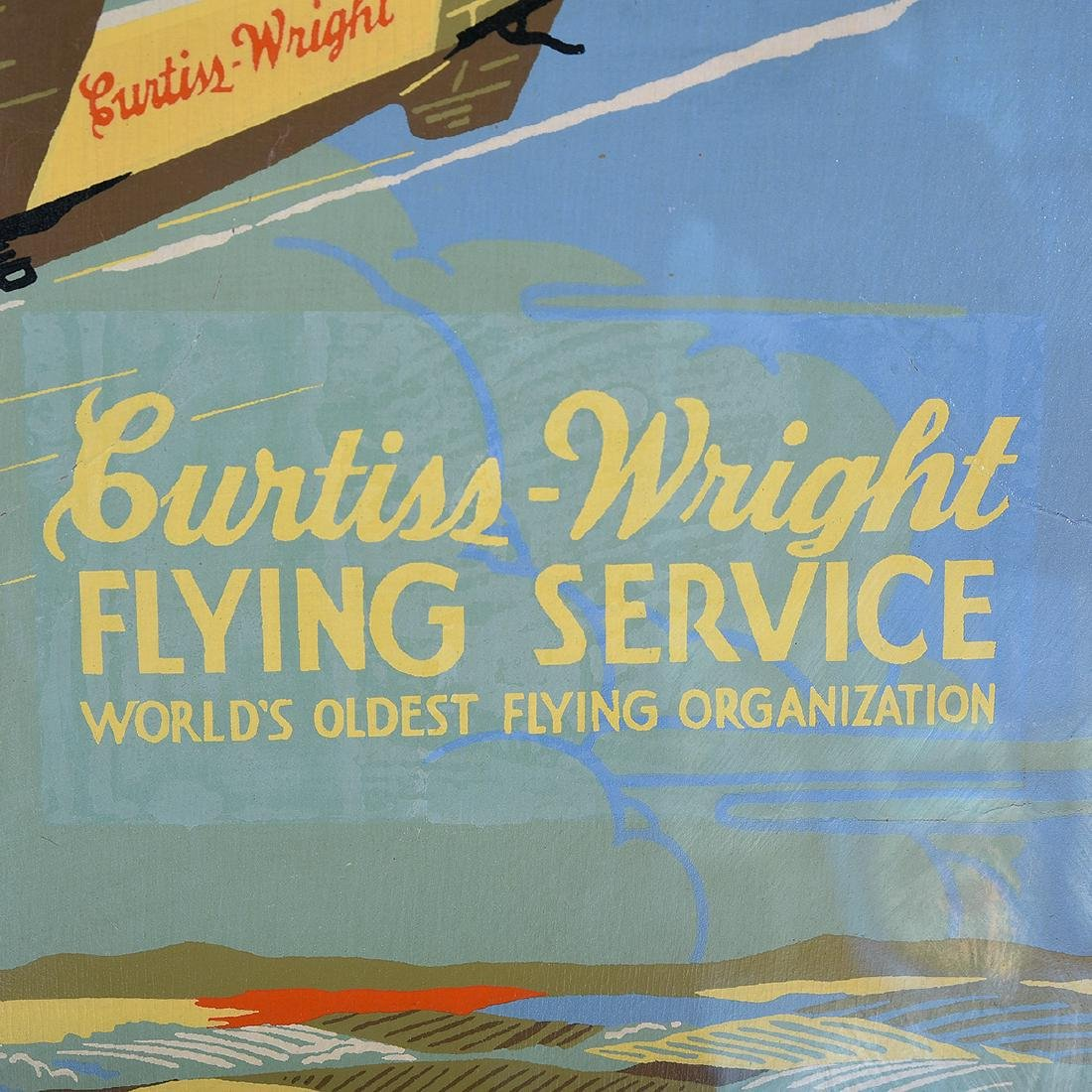 "American School ""Learn to Fly: Curtiss Wright Flying - 2"
