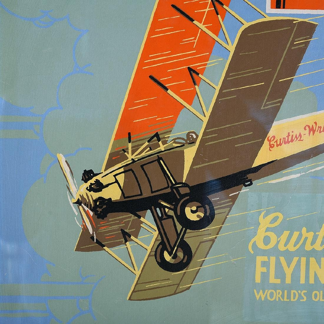 "American School ""Learn to Fly: Curtiss Wright Flying - 3"