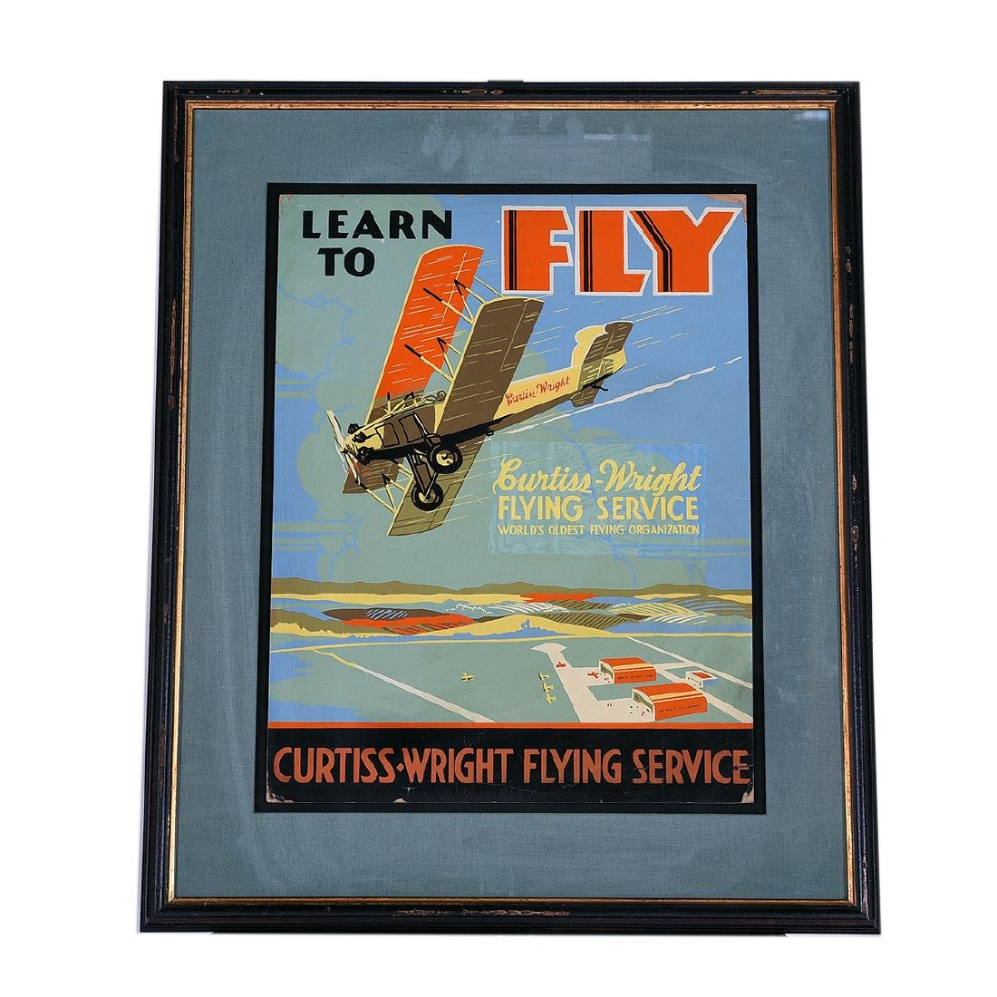 "American School ""Learn to Fly: Curtiss Wright Flying - 4"