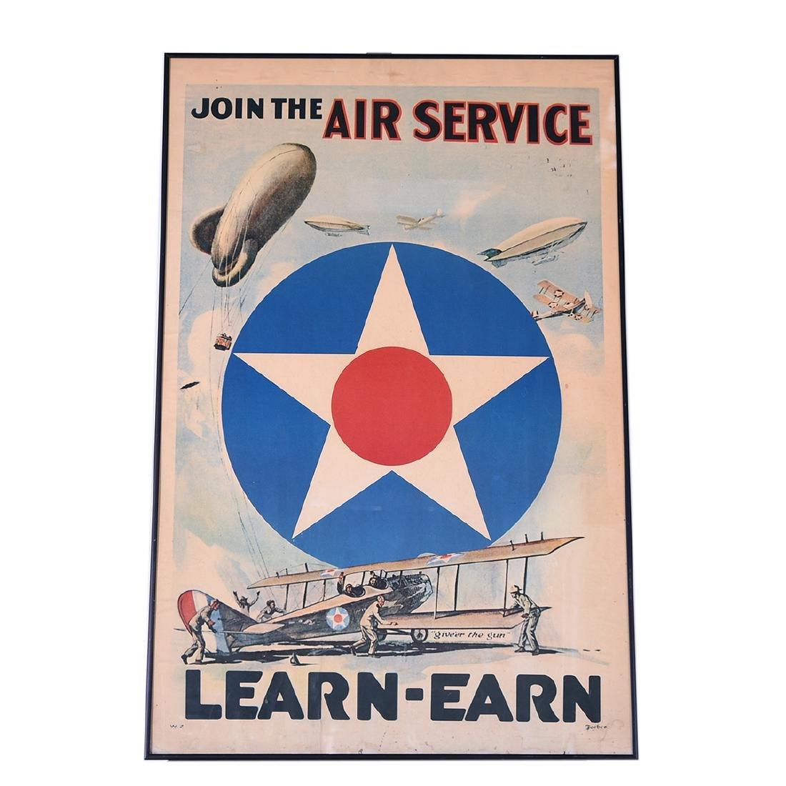 "American School ""Join the Air Service... Learn -Earn"" - 4"