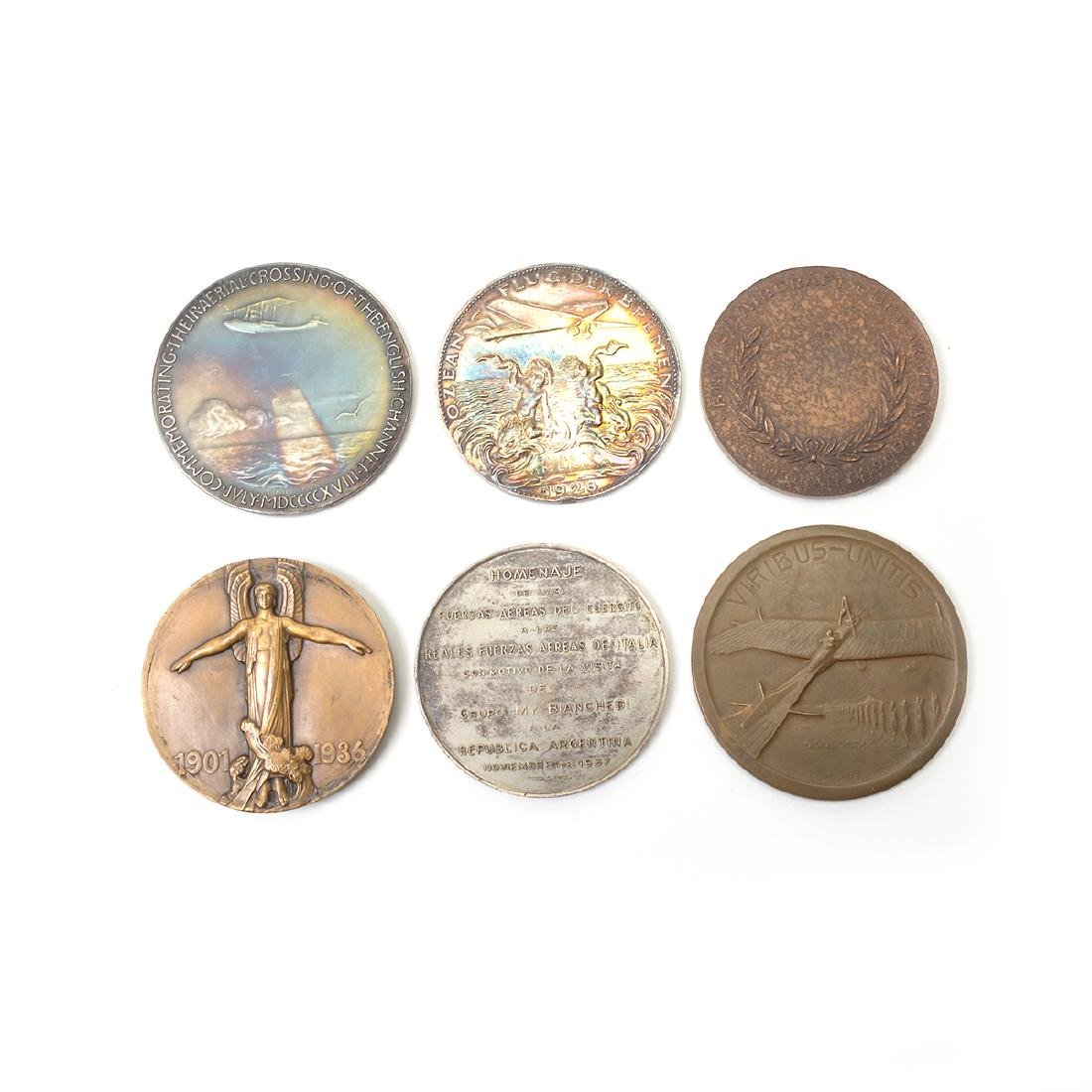 Group of Vintage Aviation Related Medals - 6