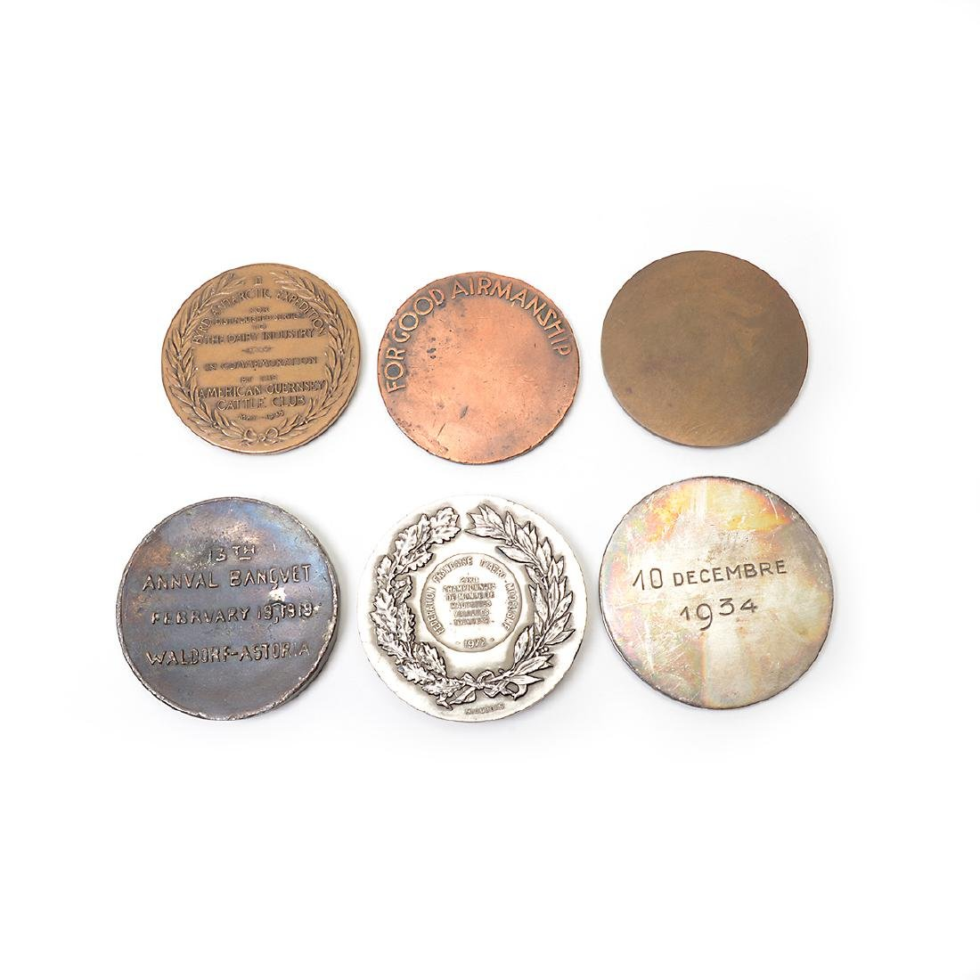 Group of Vintage Aviation Related Medals - 7