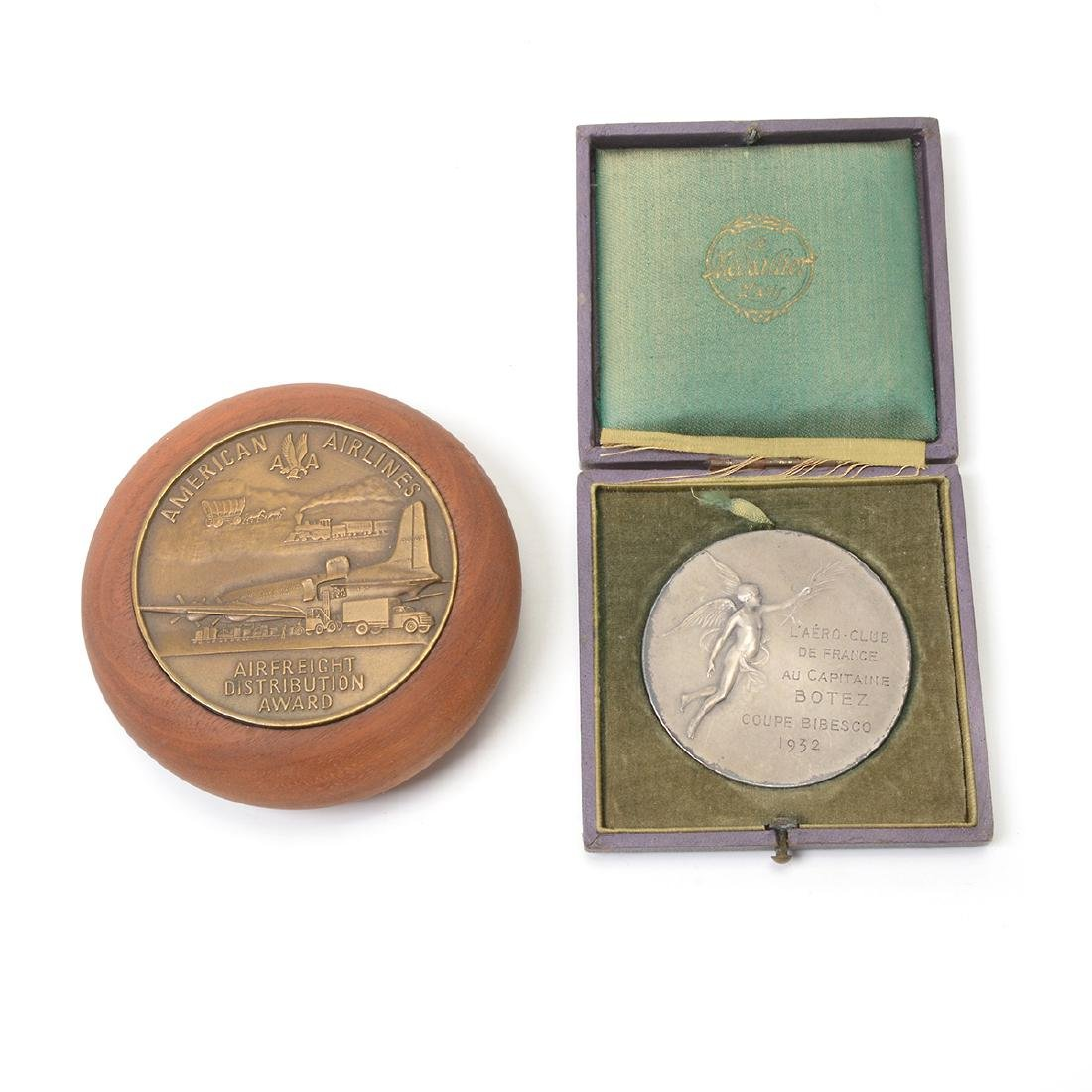 Group of Vintage Aviation Themed Medals - 6